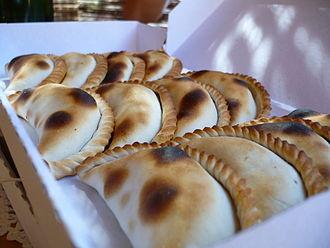 Argentine cuisine - Boxed Empanadas.