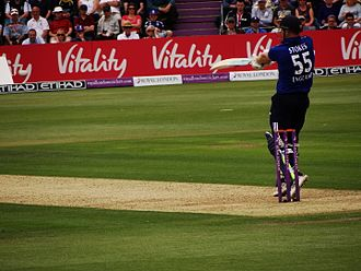 Ben Stokes - Stokes batting against New Zealand in 2015