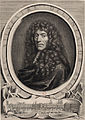 Engraved portrait of Israel Silvestre by G Edelinck after Le Brun - Gallica (cropped).jpg