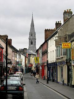 Ennis Town in Munster, Ireland