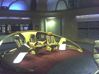 USS Enterprise (NCC-1701-D) - The main bridge replicated for exhibition