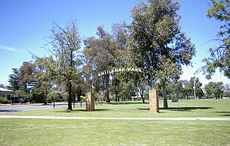 Parkview, New South Wales - Enticknap Park in Parkview.