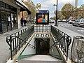 Entrée Station Porte St Ouen Paris 4.jpg