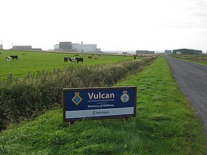 Dounreay - Vulcan NRTE entrance