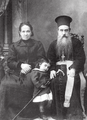 Epiphanius Shanov and his sister Gana.png