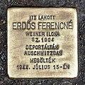 Erdős Ferencné stolperstein Budapest08.JPG