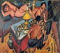 Erich Heckel and Otto Mueller Playing Chess by Ernst Ludwig Kirchner.jpg