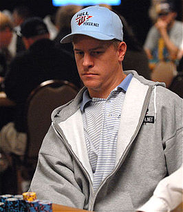 Lindgren tijdens de Doyle Brunson Five Diamond World Poker Classic in 2007