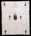 Erik XIVs monogram på näsduk från 1560 cirka - Livrustkammaren - 64935.tif