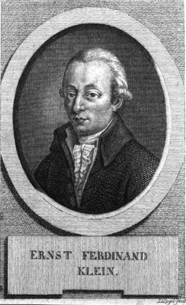 Ernst Ferdinand Klein