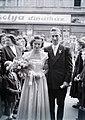 Esküvői fotó, 1949 Budapest - Fortepan 105514.jpg
