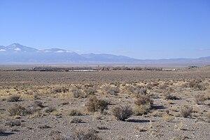 EskDale, Utah - View of EskDale from the east