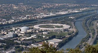 European Synchrotron Radiation Facility - ESRF site