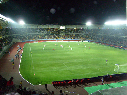 Estadio Bicentenario Francisco Sánchez Rumoroso.