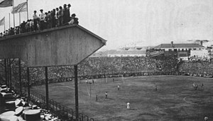 Boca Juniors - The old Boca Juniors stadium in Brandsen and Del Crucero. It was later demolished to build La Bombonera, in the same place.