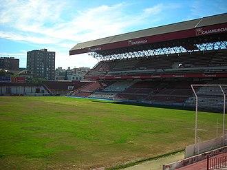 Estadio de La Condomina - La Condomina, before its renovation
