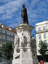 Monument to Luís de Camões, Lisbon