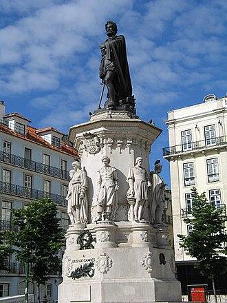 Luís de Camões - Monument to Luís de Camões, Lisbon