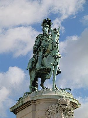 Joseph I of Portugal - Joseph I monument in Lisbon