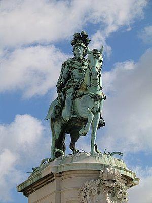 Joseph I of Portugal - Joseph I monument in Lisbon