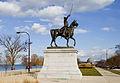 Estatua de Tadeusz Kosciuszko, Chicago, Illinois, Estados Unidos, 2012-10-20, DD 02.jpg