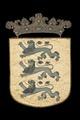 Estlands vapen med lejon, 1660 - Livrustkammaren - 108747.tif