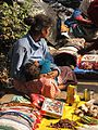 Ethnic Ornaments Hawker - Gangasagar Fair Transit Camp - Kolkata 2012-01-14 0824.JPG