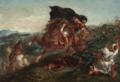 Eugène Delacroix - FRENCH LE COMBAT.PNG