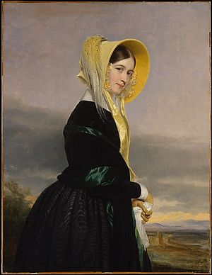 William Paterson (judge) - Paterson's granddaughter, Euphemia White Van Rensselaer (1816–1888), painted by George P. A. Healy, 1842