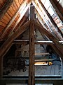 Ev. Pfarrkirche Ebersgöns Dachboden 01.JPG
