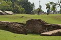 Excavated Brick Structure - Khana-Mihir Mound - South-eastward View - Berachampa - North 24 Parganas 2015-04-11 7142.JPG