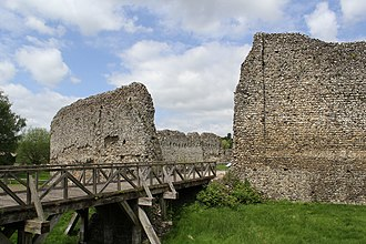 Eynsford Castle - Image: Eynsford Castle (20) (18373797302) (2)
