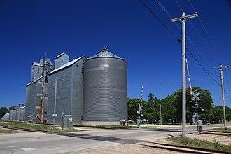 Eyota, Minnesota - Grain elevator in Eyota.