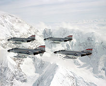 U.S. Air Force Jets at Mt. McKinley