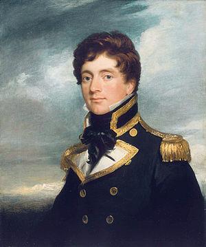 Blossom Rock (San Francisco Bay) - Frederick William Beechey,RN, Disoverer of Blossom Rock. Portrait ca. 1822