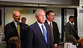 FEMA - 15882 - President Bush at FEMA Headquarters on 09-23-2005.jpg