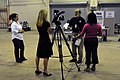 FEMA - 40929 - Television Media with PIO's at Lowndes DRC.jpg