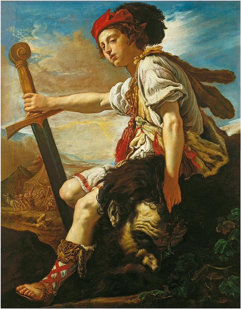 FETTI, Domenico - David with the head of Goliath (1620)