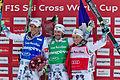 FIS Ski Cross World Cup 2015 - Megève - 20150313 - Bastien Midol, Sylvain Miaillier et Jean-Frédéric Chapuis.jpg