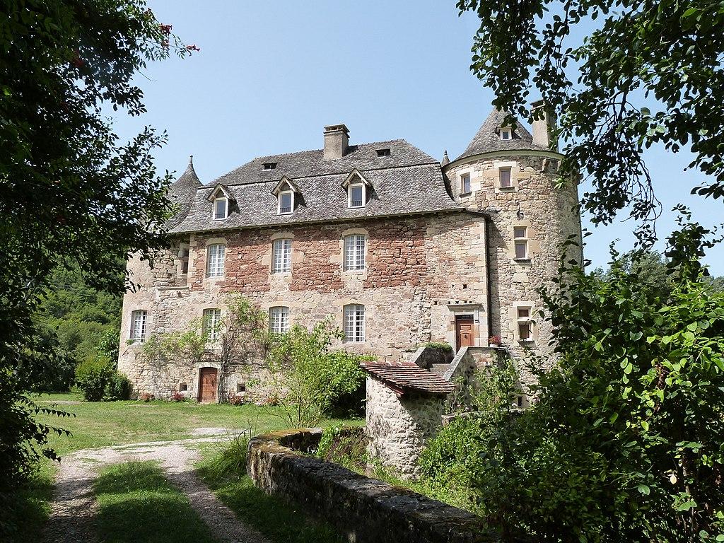 Façade sud du château de Saint-Julien d'Empare.JPG
