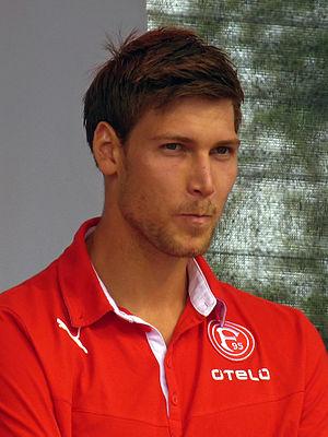 Fabian Giefer - Giefer at Fortuna Düsseldorf in 2013.