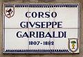 Faenza, stratnoma tabulo, corso Garibaldi, 1.jpeg