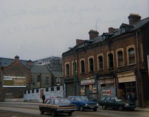 Falls Curfew - The Falls Road in 1981