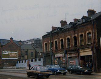 Falls Curfew - The Falls Road in 1981