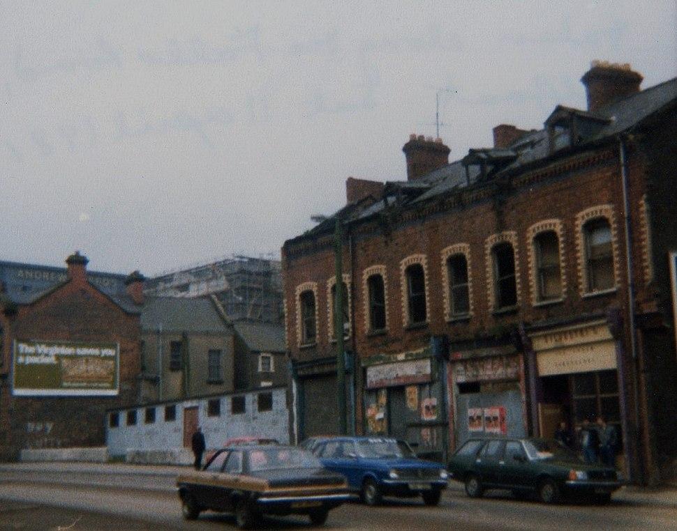 Falls Road, west Belfast 1981