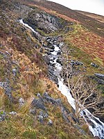 File:Falls on the Allt nan Leac - geograph.org.uk - 654341.jpg