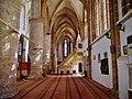 Famagusta - Gazimagusa Lala-Mustafa-Pasha-Moschee (Nikolauskathedrale) Innen Seitenschiff & Minbar 1.jpg