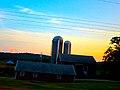 Farm with Two Silos - panoramio (25).jpg