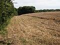 Farmland on Spaniorum Hill - geograph.org.uk - 372946.jpg