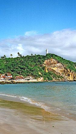View of Morro de São Paulo, Bahia